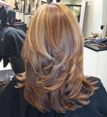 20 Different Haircuts For Long Hair Inside Edgy V Line Layers For Long Hairstyles (View 5 of 25)