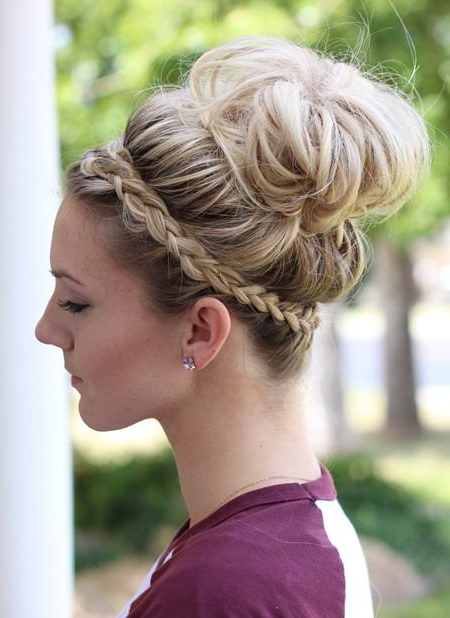 20 Different Headband Hairstyles For Jewelled Basket Weave Prom Updos (View 25 of 25)