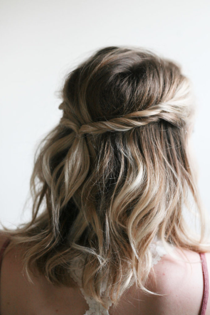 20+ Easy Half Up Hairstyles That'll Only Take Minutes To Achieve In Long Hairstyles Half Up (View 22 of 25)