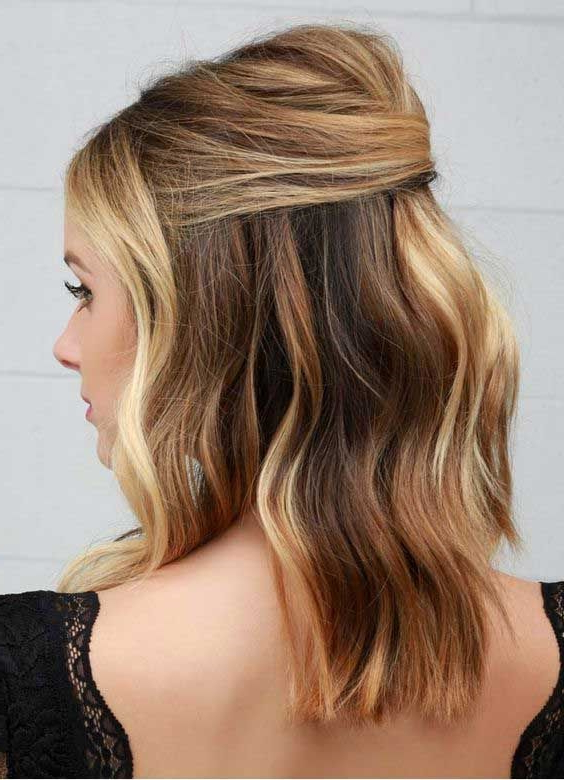 20+ Easy Half Up Hairstyles That'll Only Take Minutes To Achieve Throughout Half Up Long Hairstyles (View 22 of 25)