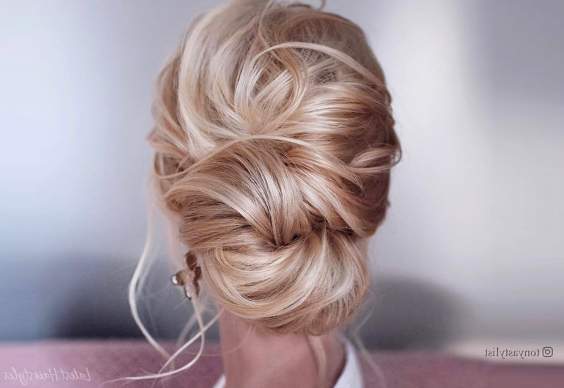 20 Easy Prom Hairstyles For 2019 You Have To See For Braided And Twisted Off Center Prom Updos (View 12 of 25)
