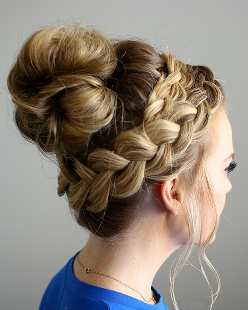 20 Exquisite Prom Updos For Long Hair Pertaining To Rosette Curls Prom Hairstyles (View 4 of 25)