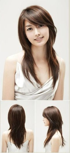 Featured Photo of Long Straight Japanese Hairstyles