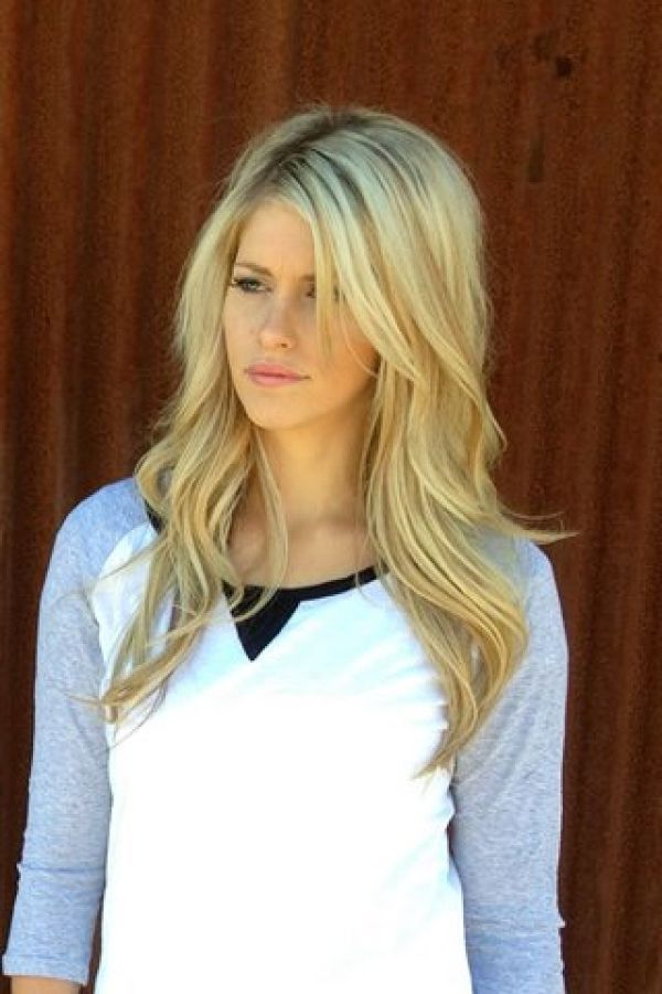 20 Fabulous Long Layered Haircuts With Bangs Intended For Blonde Long Haircuts (View 24 of 25)