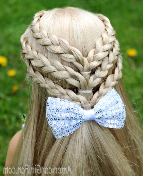 20+ Fancy Little Girl Braids Hairstyle | Fabulous Braids | Little Within Cute Hairstyles For American Girl Dolls With Long Hair (View 6 of 25)