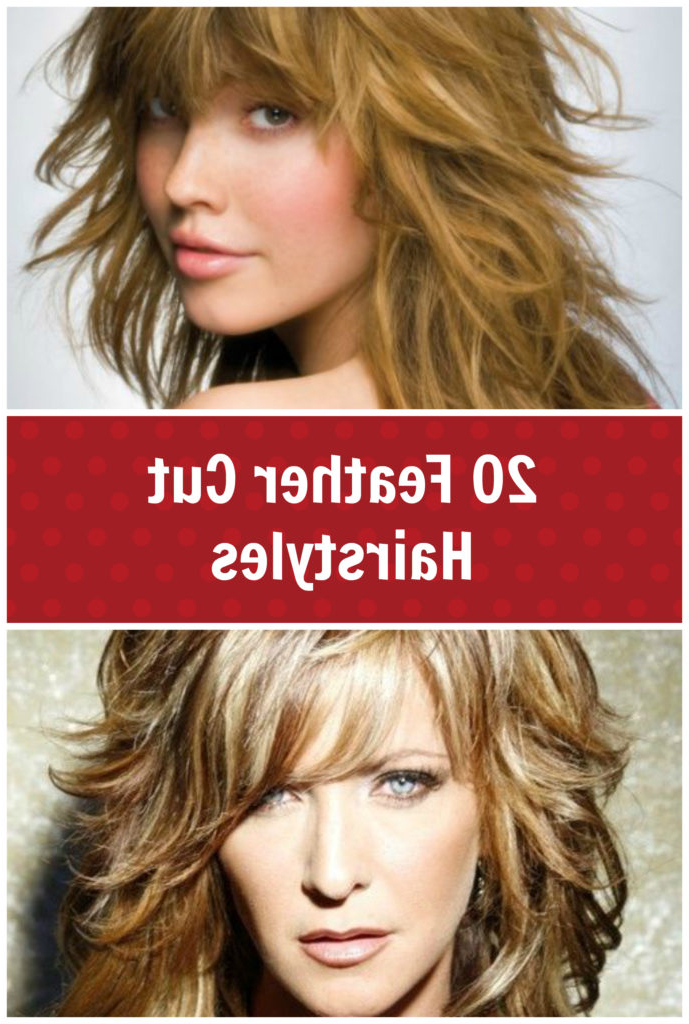 20 Feather Cut Hairstyles For Long, Medium, And Short Hair – Di For Feathered Long Hairstyles (View 9 of 25)