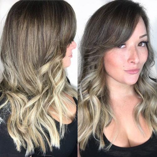 20 Flattering Side Bangs Hairstyles Trending In 2019 Within Long Hairstyles Side Fringe (View 10 of 25)