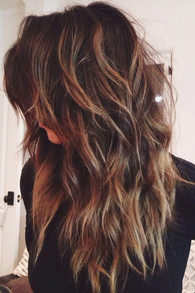 20 Glamorous Long Layered Hairstyles For Women – Haircuts In Long Hairstyles Brunette Layers (View 20 of 25)