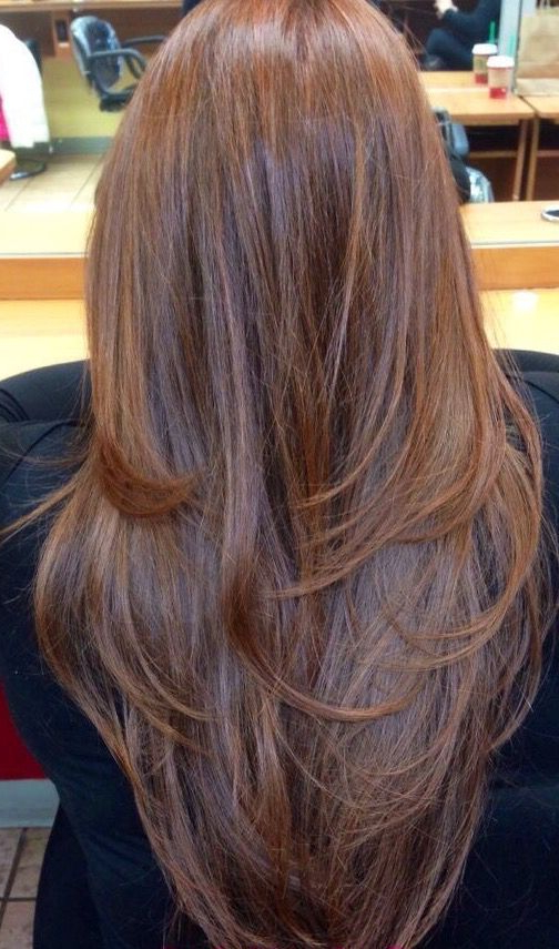 20 Glamorous Long Layered Hairstyles For Women – Haircuts Within Straight Layered For Long Hairstyles (View 22 of 25)