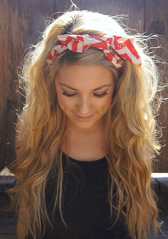 20 Gorgeous Headband Hairstyles You Love – Pretty Designs Throughout Long Hairstyles With Headbands (View 18 of 25)