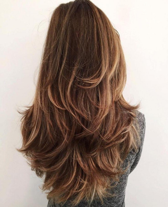20 Gorgeous Layered Hair Thick | Localfoodsurrey With Long Layers Thick Hair (View 12 of 25)