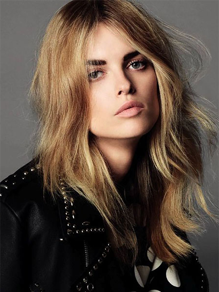 20 Gorgeous Layered Hairstyles & Haircuts – The Trend Spotter For Soft Feathery Texture Hairstyles For Long Hair (View 17 of 25)