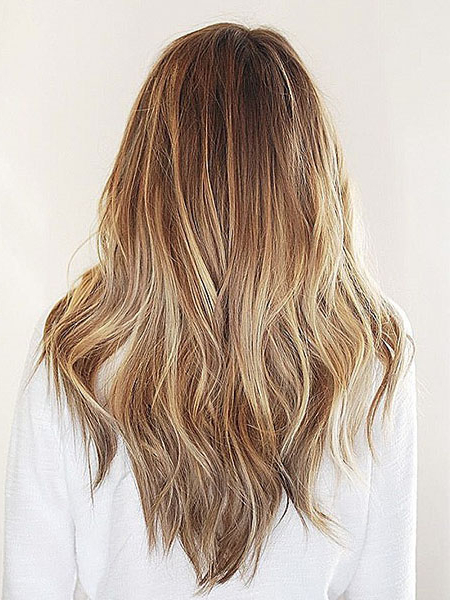 20 Gorgeous Layered Hairstyles & Haircuts – The Trend Spotter Regarding Edgy V Line Layers For Long Hairstyles (View 7 of 25)