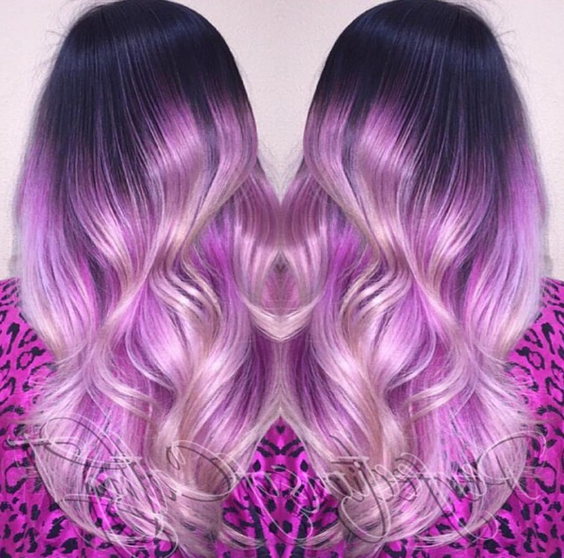 20 Gorgeous Pastel Purple Hairstyles For Short, Long And Mid Length With Regard To Purple Long Hairstyles (View 18 of 25)