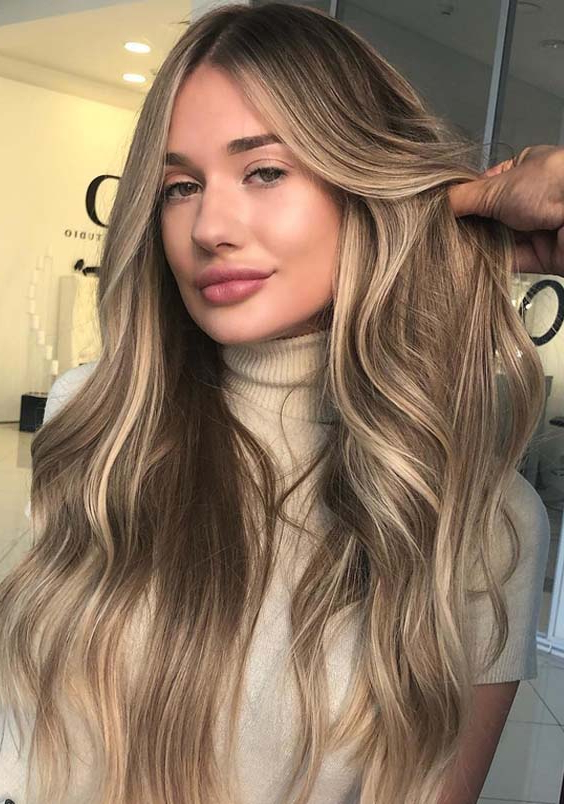 20 Gorgeous Sandy Blonde Hair Long Hairstyles In 2018 | Modeshack Intended For Long Hairstyles Blonde (View 24 of 25)
