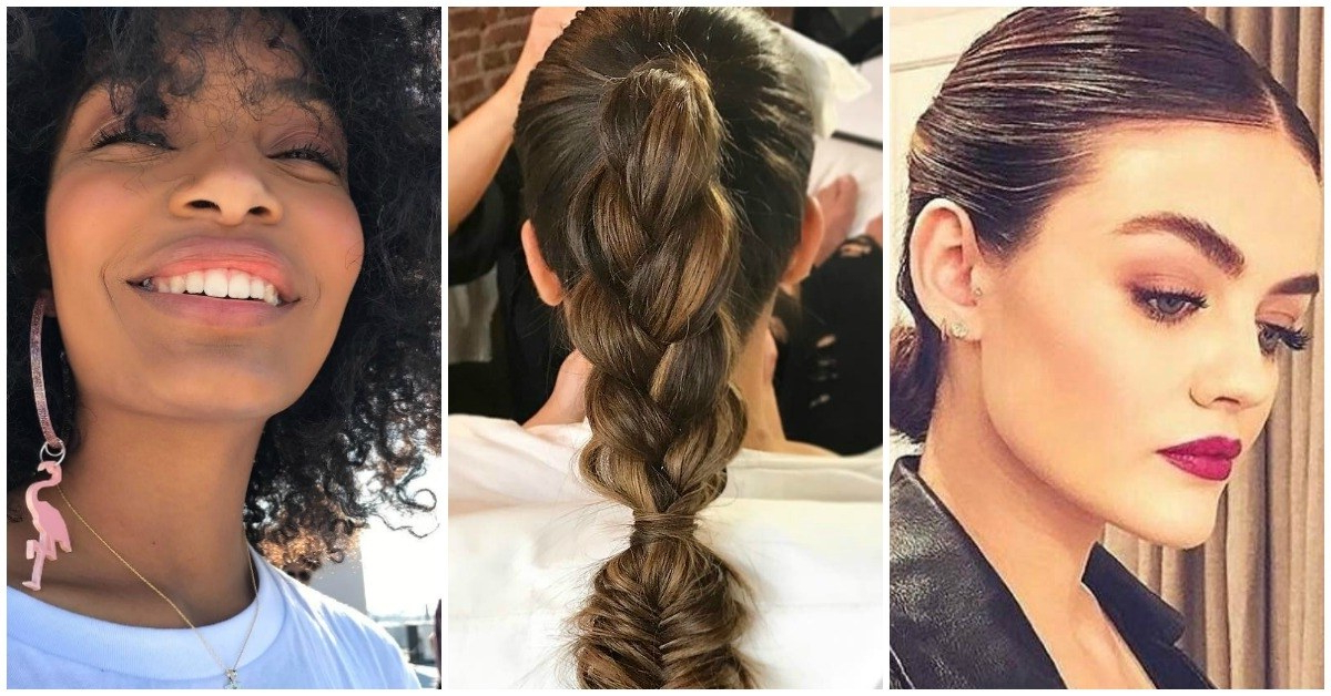 20+ Graduation Hairstyles That Won't Give You Cap Hair | Teen Vogue Regarding Long Hairstyles For Graduation (View 23 of 25)