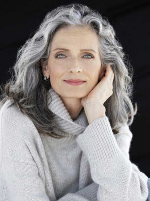 20 Great Hairstyles For Ladies Over 50 – Long Hairstyles 2015   Hair With Regard To Long Hairstyles For Gray Hair (View 3 of 25)