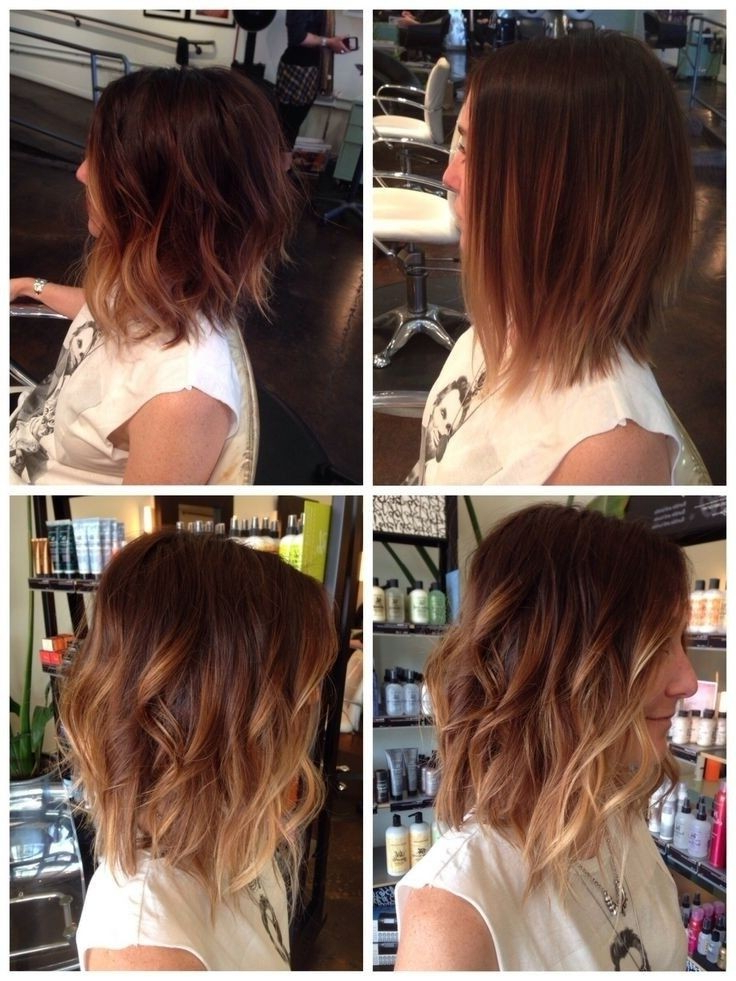 20 Great Hairstyles For Medium Length Hair 2019 – Pretty Designs Inside Long Voluminous Ombre Hairstyles With Layers (View 22 of 23)