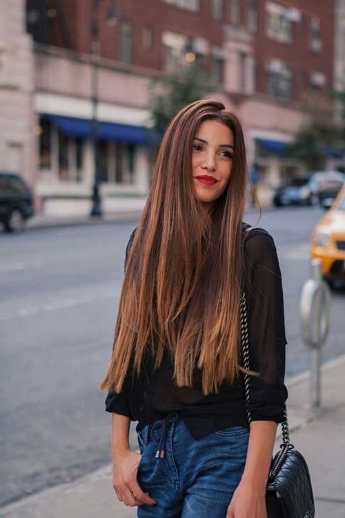 20 Haircuts For Fine Straight Hair | Hair | Long Hair Styles, Hair With Long Haircuts For Fine Straight Hair (View 2 of 25)