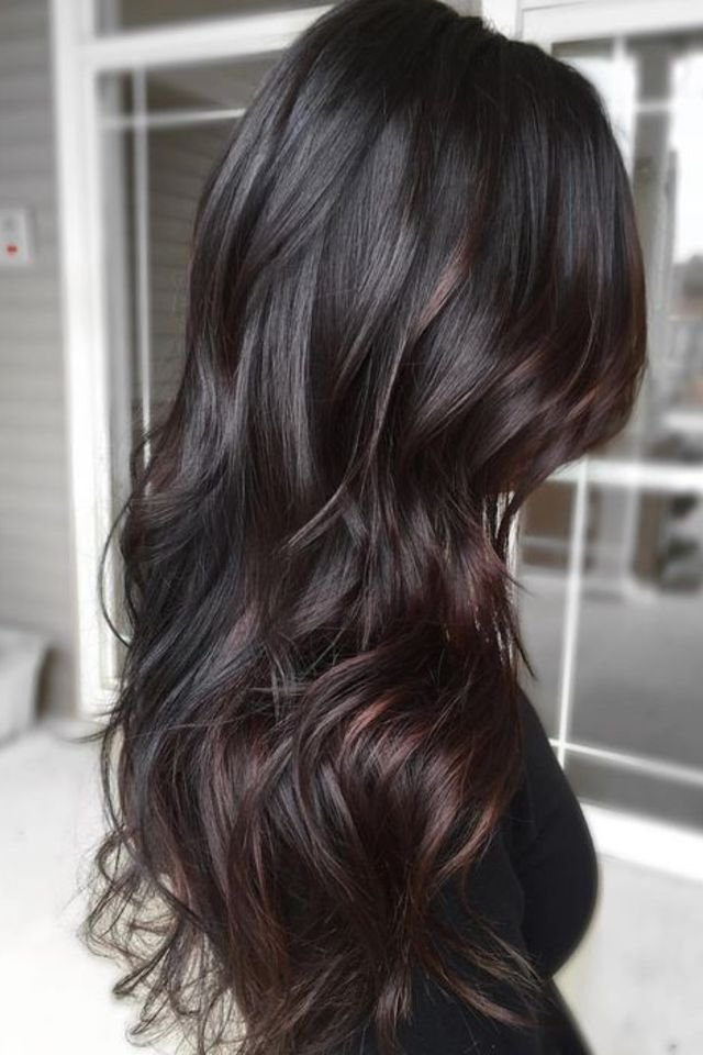 20 Hairstyle Ideas For Women With Long Black Hair Inside Long Hairstyles Dark (View 13 of 25)
