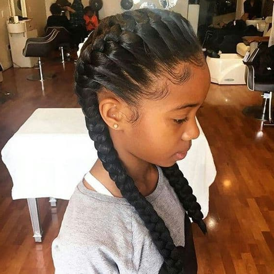 20 Ideal Little Black Girl Hairstyles For School – Hairstylecamp With Long Hairstyles For Black Girls (View 22 of 25)