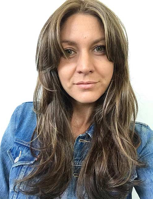 20 Incredible Medium Length Hairstyles With Bangs With Regard To Long Hairstyles Layered With Side Bangs (View 18 of 25)