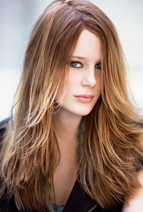 20 Layered Hairstyles For Women With 'problem' Hair – Thick, Thin Inside Long Hairstyles For Thin Straight Hair (View 25 of 25)