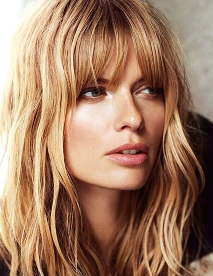 20 Layered Hairstyles For Women With 'problem' Hair – Thick, Thin Intended For Long Haircuts With Fringes (View 15 of 25)