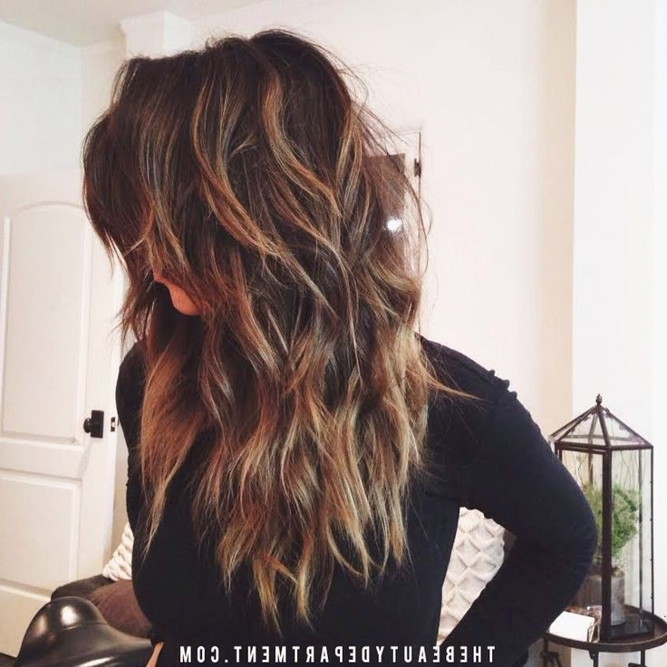 20 Layered Hairstyles For Women With 'problem' Hair – Thick, Thin Intended For Long Hairstyles Thick Wavy Hair (View 7 of 25)