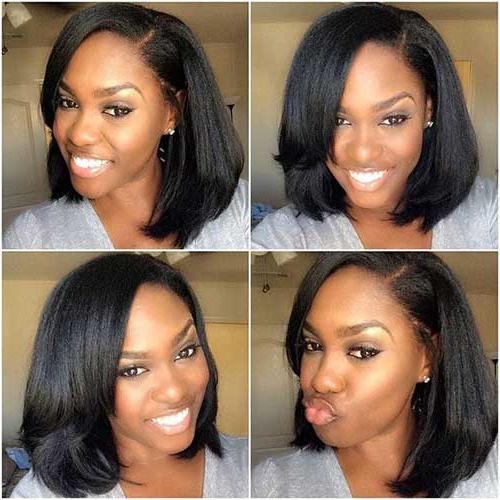 20 Long Bob Hairstyles For Black Women | Bob Hairstyles 2018 – Short Inside Long Haircuts For Black Women (View 12 of 25)