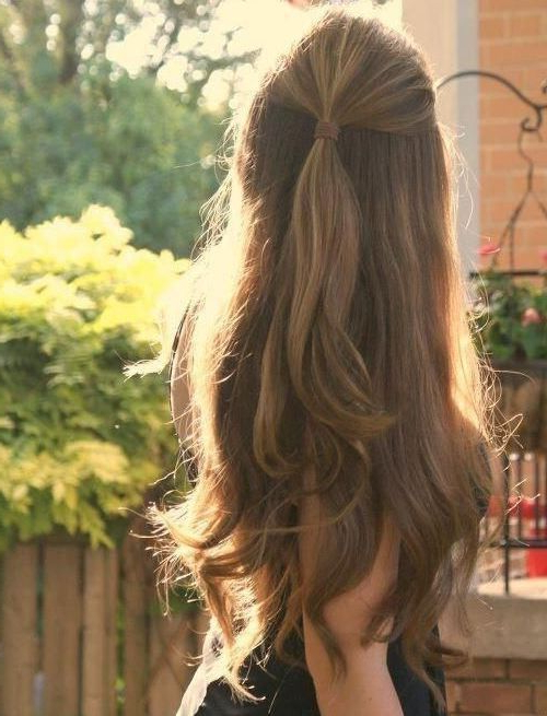 20 Long Hairstyles You Will Want To Rock Immediately! | Cheerleaders With Ponytail Layered Long Hairstyles (View 13 of 25)