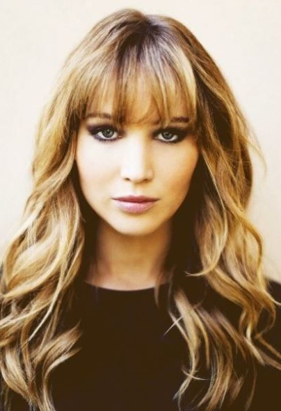 Featured Photo of Trendy Long Hairstyles With Bangs