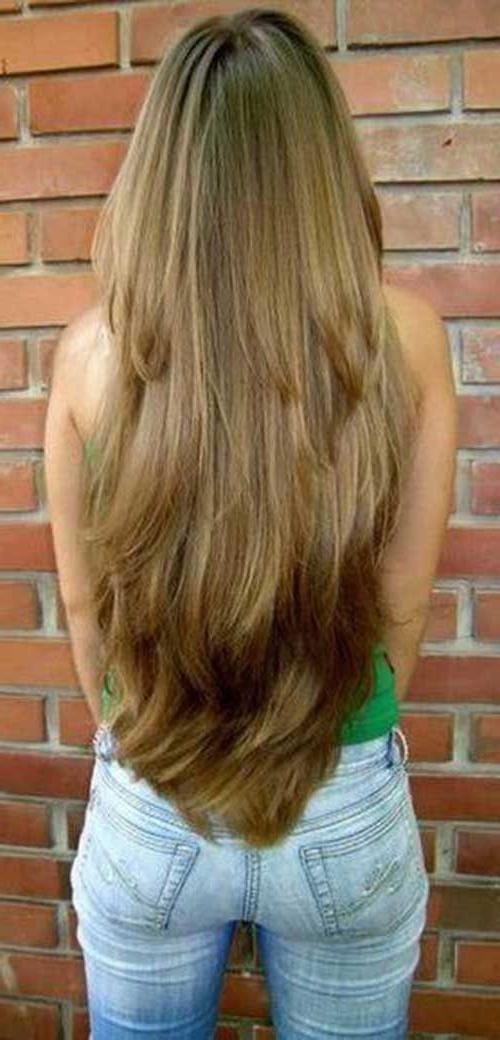 20 Long Layered Hairstyles | Long Hair | Long Hair Styles, Layered For Layers For Super Long Hairstyles (View 10 of 25)