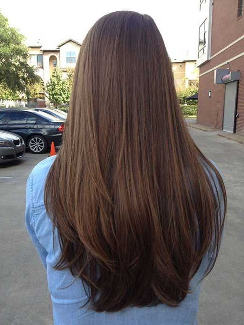 20+ Long Layered Straight Hairstyles   Favourite Things   Hair, Long For Long Hairstyles Layered Straight (View 2 of 25)