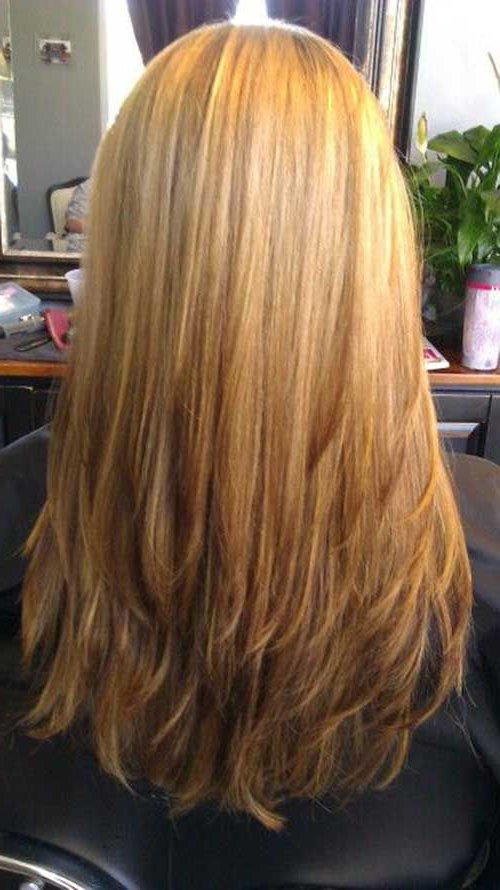 Featured Photo of Straight Layered For Long Hairstyles
