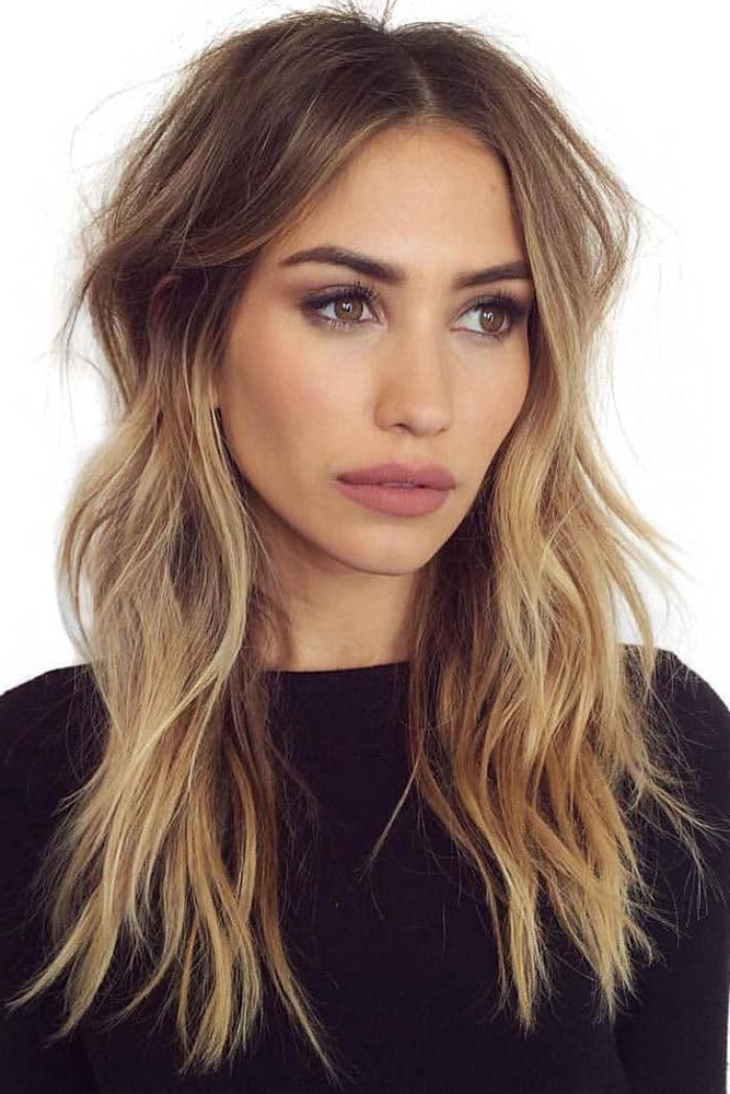 20 Luxurious Long Layered Hairstyles For Women – Hairstylecamp Inside Long Layered Fine Hair (View 2 of 25)