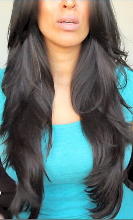 20 Luxurious Long Layered Hairstyles For Women – Hairstylecamp Within Long Layered Black Haircuts (View 8 of 25)