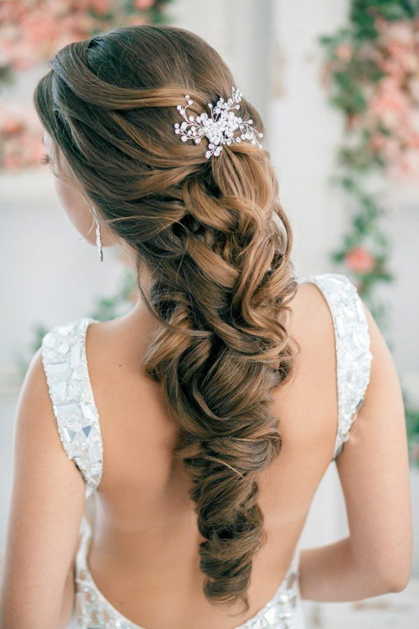 20 Most Elegant And Beautiful Wedding Hairstyles With Elegant Long Hairstyles For Weddings (View 5 of 25)