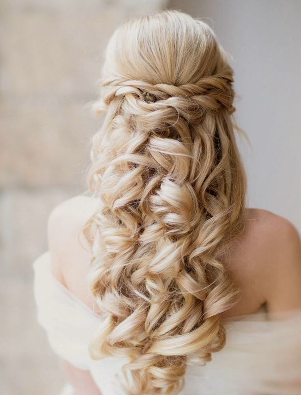 20 Most Elegant And Beautiful Wedding Hairstyles Within Elegant Long Hairstyles For Weddings (View 3 of 25)