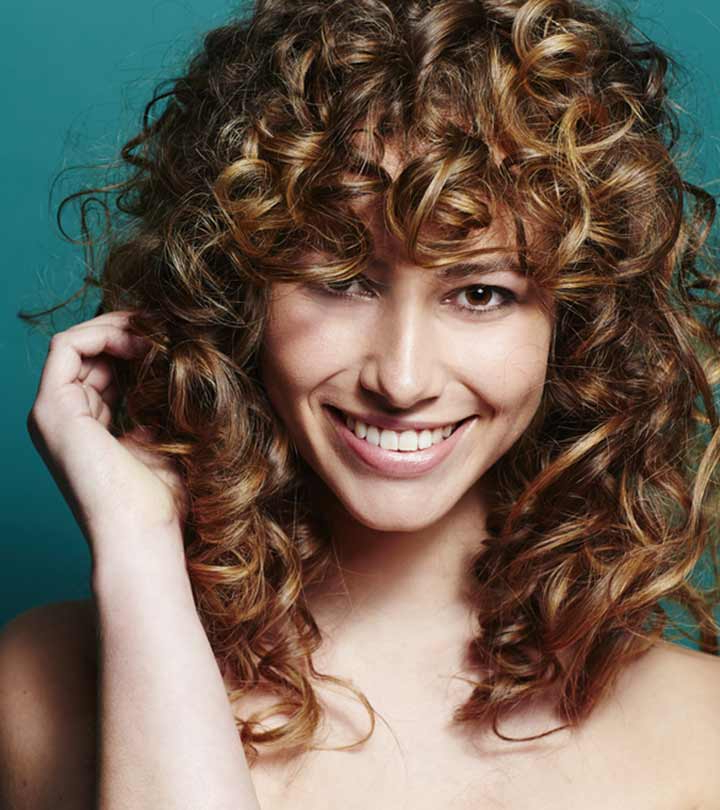 Featured Photo of Curly Long Hairstyles With Bangs