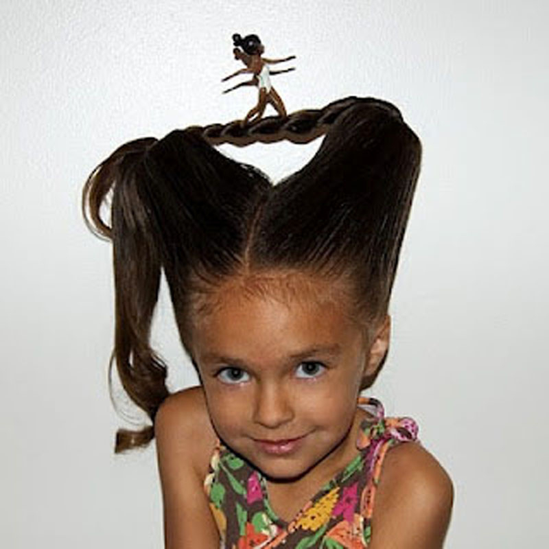 20 Of The Best Ideas For Wacky Hairstyles Easy To Do – Home Regarding Crazy Long Hairstyles (View 23 of 25)