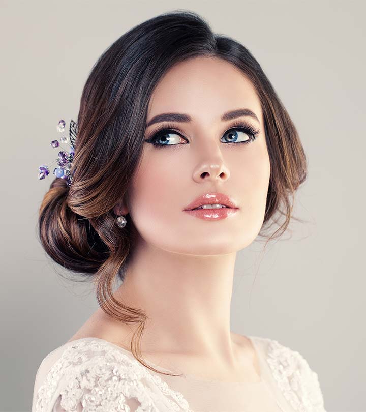 20 Popular Prom Hairstyles For Girls With Medium Length Hair Within Classic Prom Updos With Thick Accent Braid (View 12 of 25)