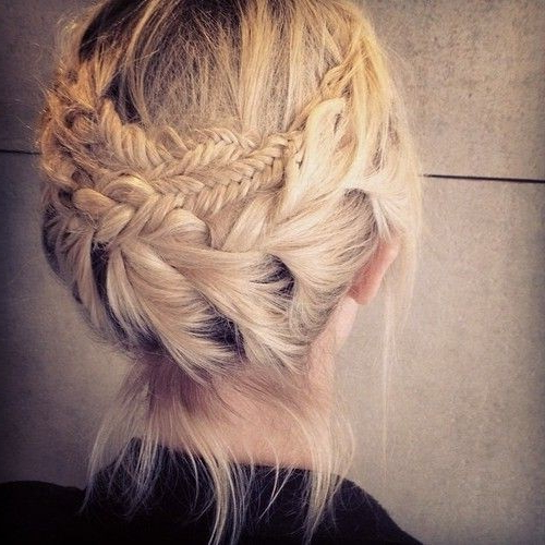 20 Pretty Braided Updo Hairstyles – Popular Haircuts Inside Double Braided Prom Updos (View 12 of 25)