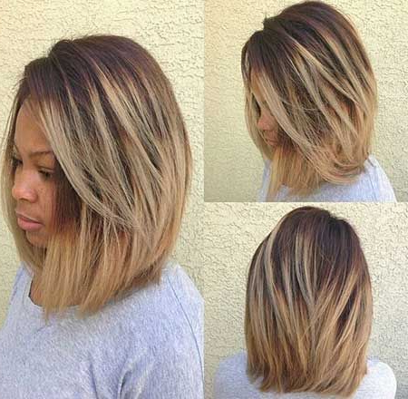 20 Short Bob Hairstyles For Black Women | H A I R S T Y L E S | Long Within Long Haircuts For Black Women (View 17 of 25)