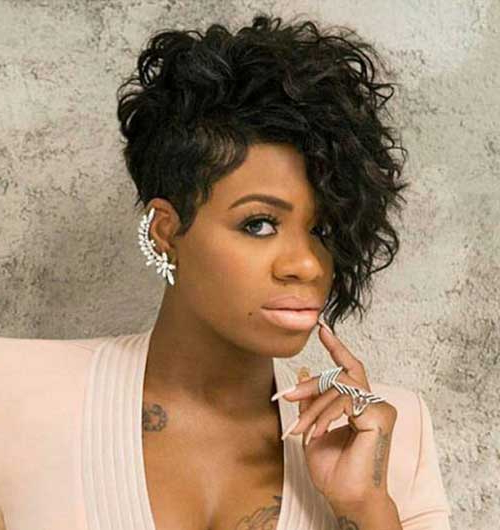 20 Short Curly Hairstyles For Black Women With Regard To Curly Long Hairstyles For Black Women (View 14 of 25)