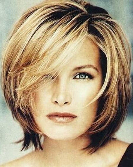 20 Short Hairstyles For Round Faces Over 50 With Regard To Long Hairstyles For Round Faces Over (View 6 of 25)