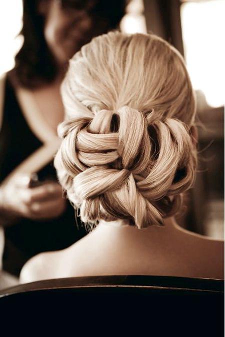 20 Stunning Wedding Hairstyles Regarding Jewelled Basket Weave Prom Updos (View 8 of 25)