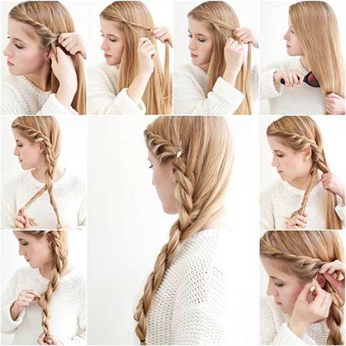 20 Terrific Hairstyles For Long Thin Hair With Regard To Cute Hairstyles For Long Thin Hair (View 4 of 25)