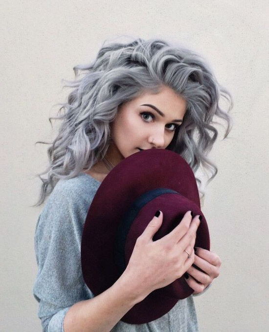 20 Trendy Gray Hairstyles – Gray Hair Trend & Balayage Hair Designs In Long Hairstyles Grey Hair (View 20 of 25)