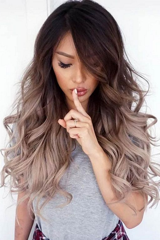 20 Trendy Hair Color Ideas For Long Hairs 2017 2018 | Balayage Within Long Hairstyles Colors (View 6 of 25)